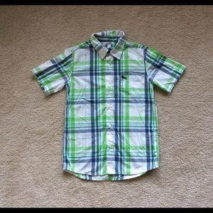 Boys Old Navy button shirt.